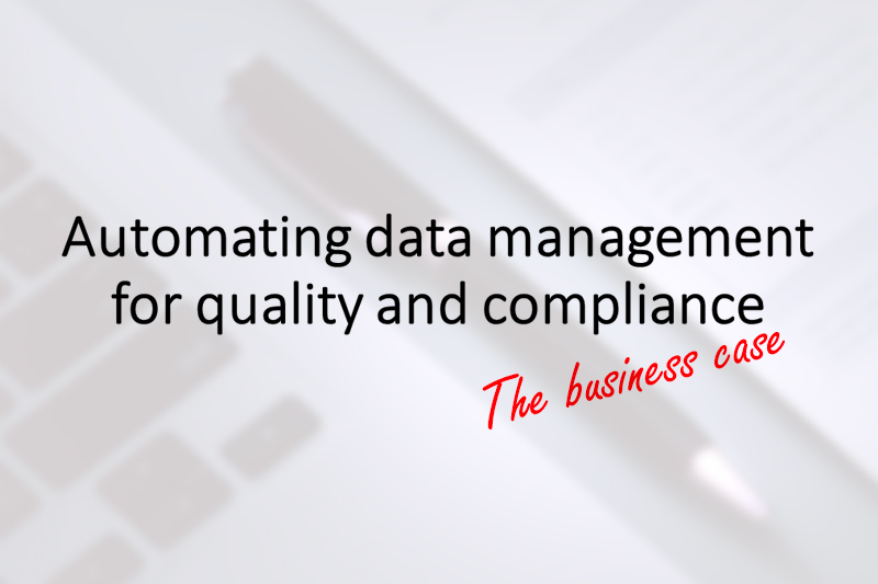 Automating data management